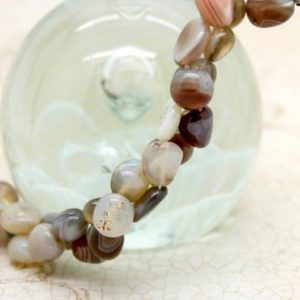 Shop Agate Chip & Nugget Beads! Botswana Agate Natural Gemstone Rough Nugget Chips Losse Bead | Natural genuine chip Agate beads for beading and jewelry making.  #jewelry #beads #beadedjewelry #diyjewelry #jewelrymaking #beadstore #beading #affiliate #ad