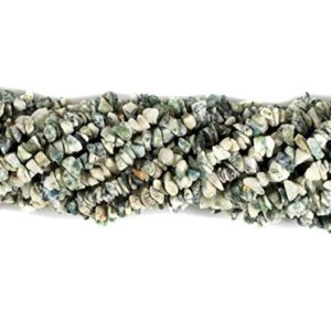 Shop Agate Chip & Nugget Beads! Tree Agate Natural Uncut Chips Beads, 34 Inches Strand Pack Of 5 | Natural genuine chip Agate beads for beading and jewelry making.  #jewelry #beads #beadedjewelry #diyjewelry #jewelrymaking #beadstore #beading #affiliate #ad