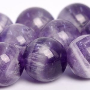 "Shop Amethyst Round Beads! 10MM Dog Teeth Amethyst Beads Grade AA Genuine Natural Gemstone Full Strand Round Loose Beads 16"" BULK LOT 1,3,5,10 and 50 (104759-1297) 