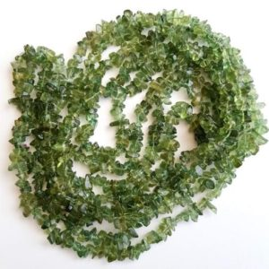 Shop Apatite Chip & Nugget Beads! 32 Inch Green Apatite Chips, 4-7mm Natural Green Apatite Beads, Green Apatite Necklace – Ant44 | Natural genuine chip Apatite beads for beading and jewelry making.  #jewelry #beads #beadedjewelry #diyjewelry #jewelrymaking #beadstore #beading #affiliate #ad