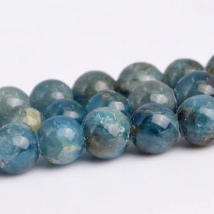 "Shop Apatite Round Beads! 3-4MM Light Blue Apatite Beads Grade A Genuine Natural Gemstone Full Strand Round Loose Beads 15"" BULK LOT 1,3,5,10 and 50 (102854-612) 