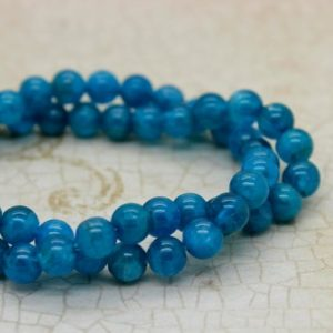 Shop Apatite Beads! High Quality Apatite Round Gemstone Beads (3mm 4mm 5mm 6mm) | Natural genuine beads Apatite beads for beading and jewelry making.  #jewelry #beads #beadedjewelry #diyjewelry #jewelrymaking #beadstore #beading #affiliate #ad
