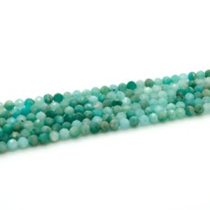 Shop Aquamarine Faceted Beads! Aquamarine Faceted Round Ball Sphere Loose Gemstone Beads – 3mm 4mm | Natural genuine faceted Aquamarine beads for beading and jewelry making.  #jewelry #beads #beadedjewelry #diyjewelry #jewelrymaking #beadstore #beading #affiliate #ad