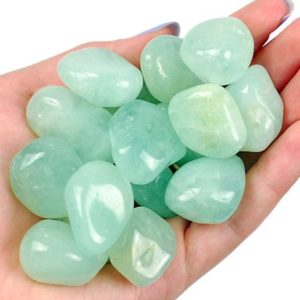 Shop Aquamarine Stones & Crystals! Aquamarine Tumbled Stone, Healing Aquamarine Crystals, Healing Aquamarine Stones, Natural Aquamarine Gemstone, Ladiescrystals, Gift | Natural genuine stones & crystals in various shapes & sizes. Buy raw cut, tumbled, or polished gemstones for making jewelry or crystal healing energy vibration raising reiki stones. #crystals #gemstones #crystalhealing #crystalsandgemstones #energyhealing #affiliate #ad