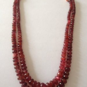 burmese red spinel necklace burma red spinel old cut necklace very very rare size 4mmm to 9mm wt 287.5 carats red spinel | Natural genuine Spinel necklaces. Buy crystal jewelry, handmade handcrafted artisan jewelry for women.  Unique handmade gift ideas. #jewelry #beadednecklaces #beadedjewelry #gift #shopping #handmadejewelry #fashion #style #product #necklaces #affiliate #ad