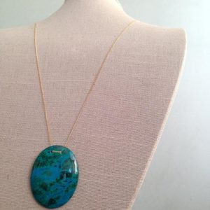 Chrysocolla Pendant Necklace Chrysocolla Necklace Chrysocolla Jewelry | Natural genuine Chrysocolla pendants. Buy crystal jewelry, handmade handcrafted artisan jewelry for women.  Unique handmade gift ideas. #jewelry #beadedpendants #beadedjewelry #gift #shopping #handmadejewelry #fashion #style #product #pendants #affiliate #ad