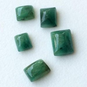 Shop Emerald Stones & Crystals! 1 Pc Emerald Plain Rectangle Cabochon, Natural Loose Emerald Rectangle Stone, Emerald Ring – Ausph73 | Natural genuine stones & crystals in various shapes & sizes. Buy raw cut, tumbled, or polished gemstones for making jewelry or crystal healing energy vibration raising reiki stones. #crystals #gemstones #crystalhealing #crystalsandgemstones #energyhealing #affiliate #ad