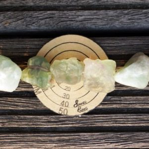 Shop Fluorite Beads! Green Flourite 13-23mm natural rough beads (ETB00619) | Natural genuine beads Fluorite beads for beading and jewelry making.  #jewelry #beads #beadedjewelry #diyjewelry #jewelrymaking #beadstore #beading #affiliate #ad