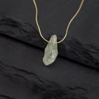Green Amethyst Necklace, Raw Crystal Necklace, Healing Crystal Jewelry, Birthstone Jewelry, Rough Stone Necklace, Gift Ideas For Her, Nk-th | Natural genuine gemstone jewelry in modern, chic, boho, elegant styles. Buy crystal handmade handcrafted artisan art jewelry & accessories. #jewelry #beaded #beadedjewelry #product #gifts #shopping #style #fashion #product