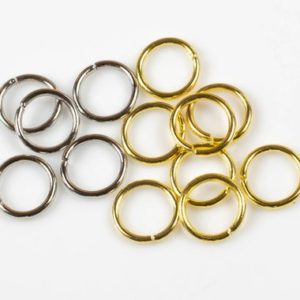 Shop Jump Rings! Heavy Gauge Jump Ring- 12mm- 16 Gauge- High Quality-50 pcs-  Perfect for Attaching A Pendant to Our Knotted Necklace! | Shop jewelry making and beading supplies, tools & findings for DIY jewelry making and crafts. #jewelrymaking #diyjewelry #jewelrycrafts #jewelrysupplies #beading #affiliate #ad