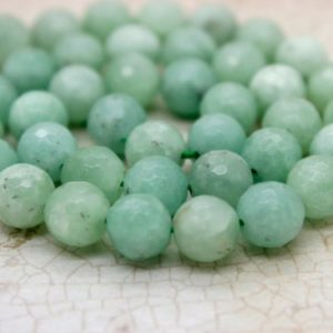 Shop Jade Faceted Beads! Burma Faceted Round Jade Natural Gemstone Beads | Natural genuine faceted Jade beads for beading and jewelry making.  #jewelry #beads #beadedjewelry #diyjewelry #jewelrymaking #beadstore #beading #affiliate