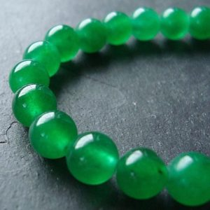 Shop Jade Beads! Jade Beads 6mm Lime Green Candy Rounds –  12 Pieces | Natural genuine beads Jade beads for beading and jewelry making.  #jewelry #beads #beadedjewelry #diyjewelry #jewelrymaking #beadstore #beading #affiliate #ad
