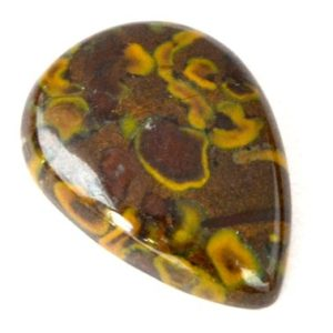 Shop Jasper Cabochons! Conglomerate Jasper Cabochon Stone (34mm X 24mm X 7mm) – Drop Cabochon | Natural genuine stones & crystals in various shapes & sizes. Buy raw cut, tumbled, or polished gemstones for making jewelry or crystal healing energy vibration raising reiki stones. #crystals #gemstones #crystalhealing #crystalsandgemstones #energyhealing #affiliate #ad
