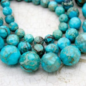 Shop Jasper Faceted Beads! Snake Skin Jasper Faceted Round Gemstone Beads (6mm 8mm 10mm 12mm) | Natural genuine faceted Jasper beads for beading and jewelry making.  #jewelry #beads #beadedjewelry #diyjewelry #jewelrymaking #beadstore #beading #affiliate #ad
