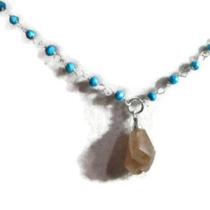 Shop Jasper Pendants! Turquoise Necklace – Jasper Gemstone Pendant – Sterling Silver Jewelry – Classic Jewellery – Brown | Natural genuine Jasper pendants. Buy crystal jewelry, handmade handcrafted artisan jewelry for women.  Unique handmade gift ideas. #jewelry #beadedpendants #beadedjewelry #gift #shopping #handmadejewelry #fashion #style #product #pendants #affiliate #ad