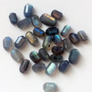 Shop Labradorite Cabochons! 9x13mm – 11x17mm Labradorite Cabochons, Labradorite Faceted Fancy Shape Flat Back Cabochons, Loose Labradorite, 5 Pieces – NS3355 | Natural genuine stones & crystals in various shapes & sizes. Buy raw cut, tumbled, or polished gemstones for making jewelry or crystal healing energy vibration raising reiki stones. #crystals #gemstones #crystalhealing #crystalsandgemstones #energyhealing #affiliate #ad