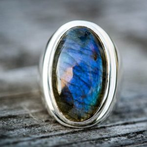 Shop Men's Gemstone Rings! Labradorite ring 9.5 – Mens Labradorite Ring Size 9.5 – Labradorite Ring Sterling Silver Labradorite Jewelry Men's Labradorite Ring Size 9.5 | Natural genuine Agate mens fashion rings, simple unique handcrafted gemstone men's rings, gifts for men. Anillos hombre. #rings #jewelry #crystaljewelry #gemstonejewelry #handmadejewelry #affiliate #ad