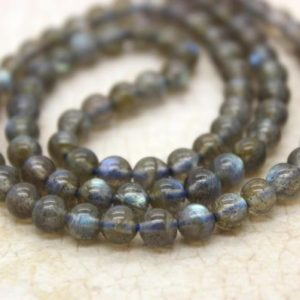 Shop Labradorite Round Beads! Labradorite Round Gemstone Beads (2mm 4mm 5mm 8mm) | Natural genuine round Labradorite beads for beading and jewelry making.  #jewelry #beads #beadedjewelry #diyjewelry #jewelrymaking #beadstore #beading #affiliate #ad