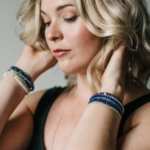 Shop Lapis Lazuli Jewelry! Lapis Lazuli Bracelet | Cobalt Blue Natural Stone Jewelry | Sterling Silver Clasp Bracelet | Small Bead Delicate Lapis Lazuli Jewelry | Natural genuine Lapis Lazuli jewelry. Buy crystal jewelry, handmade handcrafted artisan jewelry for women.  Unique handmade gift ideas. #jewelry #beadedjewelry #beadedjewelry #gift #shopping #handmadejewelry #fashion #style #product #jewelry #affiliate #ad