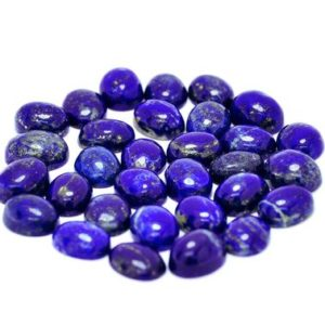 Shop Lapis Lazuli Cabochons! Lapis Lazuli Cabochon Gemstone (10mm X 8mm X 5mm) – Oval Cabochon Stone – Gem For Ring – Natural Blue Lapis – Loose Gemstone | Natural genuine stones & crystals in various shapes & sizes. Buy raw cut, tumbled, or polished gemstones for making jewelry or crystal healing energy vibration raising reiki stones. #crystals #gemstones #crystalhealing #crystalsandgemstones #energyhealing #affiliate #ad