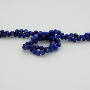 Shop Lapis Lazuli Faceted Beads! Natural Lapis Lazuli Round Faceted Ball Sphere Gemstone Loose Bead Beads 2mm 3mm 4mm | Natural genuine faceted Lapis Lazuli beads for beading and jewelry making.  #jewelry #beads #beadedjewelry #diyjewelry #jewelrymaking #beadstore #beading #affiliate #ad