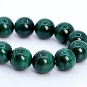 "Shop Malachite Round Beads! 11MM Green Malachite Beads South Africa A Genuine Natural Gemstone Half Strand Round Loose Beads 7.5"" BULK LOT 1,3,5,10,50 (106082h-1833) 