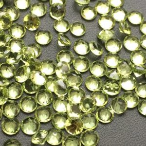 Shop Peridot Gemstones! Peridot Round Cut Stone Lot, 5 CTW, 12 Pcs, 4mm Pointed Back Round Faceted Peridot, Loose Peridot Gemstones – KSN200 | Natural genuine gemstones & crystals in various shapes & sizes. Buy raw cut, tumbled, or polished for making jewelry or crystal healing energy reiki stones. #crystals #gemstones #crystalhealing #crystalsandgemstones #energyhealing #affiliate