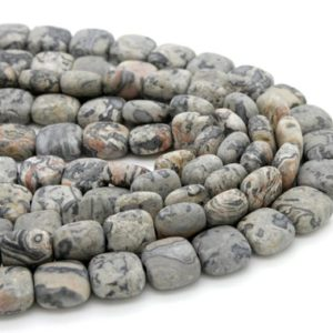 Shop Picture Jasper Beads! Picture Jasper, Matte Picture Jasper Gray Flat Square Natural Gemstone 10mm x 10mm Loose Beads | Natural genuine beads Picture Jasper beads for beading and jewelry making.  #jewelry #beads #beadedjewelry #diyjewelry #jewelrymaking #beadstore #beading #affiliate #ad