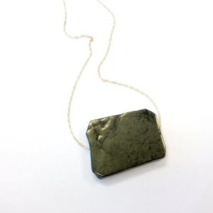 Shop Pyrite Pendants! Pyrite Necklace – Yellow Gold Jewelry – Natural Gemstone Jewellery – Chunky – Chain – Pendant – Fashion – Unique | Natural genuine Pyrite pendants. Buy crystal jewelry, handmade handcrafted artisan jewelry for women.  Unique handmade gift ideas. #jewelry #beadedpendants #beadedjewelry #gift #shopping #handmadejewelry #fashion #style #product #pendants #affiliate #ad