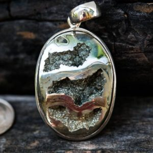 Shop Pyrite Pendants! Pyritized Ammonite Pendant – Natural Pyrite Ammonite – Ammonite Pyrite necklace – Ammonite Jewelry – Millions of Years old Fossil Pendant | Natural genuine Pyrite pendants. Buy crystal jewelry, handmade handcrafted artisan jewelry for women.  Unique handmade gift ideas. #jewelry #beadedpendants #beadedjewelry #gift #shopping #handmadejewelry #fashion #style #product #pendants #affiliate #ad