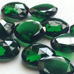 Shop Quartz Crystal Cabochons! 5 Pcs Green Hydro Quartz Rose Cut Cabochons, Hear Shape Flat Back Green Hydro Cabochons, Rose Cut Cabs, 18mm – KRS249 | Natural genuine gemstones & crystals in various shapes & sizes. Buy raw cut, tumbled, or polished for making jewelry or crystal healing energy reiki stones. #crystals #gemstones #crystalhealing #crystalsandgemstones #energyhealing #affiliate