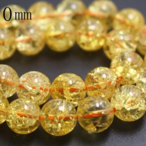 Shop Quartz Crystal Round Beads! 10mm Natural Orange Snow Rock Crystal Quartz Beads,Smooth and Round Stone Beads,15 inches one starand | Natural genuine round Quartz beads for beading and jewelry making.  #jewelry #beads #beadedjewelry #diyjewelry #jewelrymaking #beadstore #beading #affiliate #ad