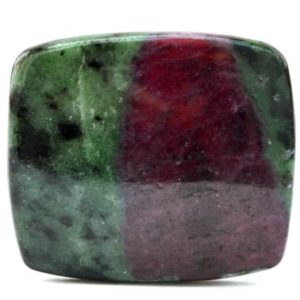 Shop Ruby Zoisite Stones & Crystals! Ruby Zoisite Cabochon Stone (36mm X 31mm X 5mm) 82cts – Rectangle Cabochon | Natural genuine stones & crystals in various shapes & sizes. Buy raw cut, tumbled, or polished gemstones for making jewelry or crystal healing energy vibration raising reiki stones. #crystals #gemstones #crystalhealing #crystalsandgemstones #energyhealing #affiliate #ad