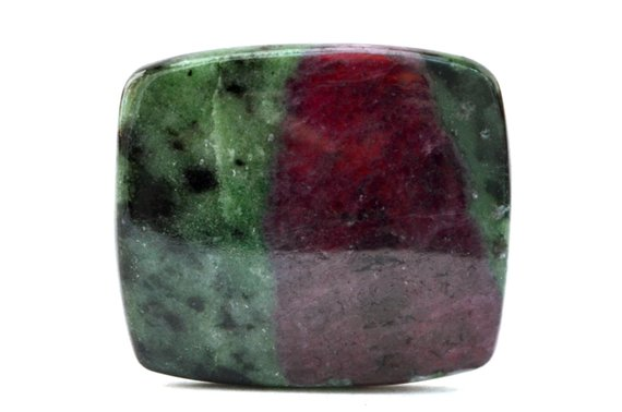 Ruby Zoisite Cabochon Stone (36mm X 31mm X 5mm) 82cts - Rectangle Cabochon