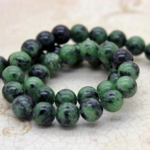 Shop Ruby Zoisite Round Beads! Ruby Zoisite Smooth Round Natural Gemstone Beads (4mm, 6mm, 8mm, 10mm) | Natural genuine round Ruby Zoisite beads for beading and jewelry making.  #jewelry #beads #beadedjewelry #diyjewelry #jewelrymaking #beadstore #beading #affiliate #ad