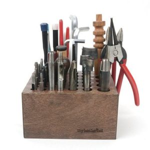 Shop Jewelry Making Tool Storage & Plier Racks! Small size Tool Rack, Wooden Design tool Organizer for your design Tools,Leather Craft Tools  MLT-P0000BOC | Shop jewelry making and beading supplies, tools & findings for DIY jewelry making and crafts. #jewelrymaking #diyjewelry #jewelrycrafts #jewelrysupplies #beading #affiliate #ad