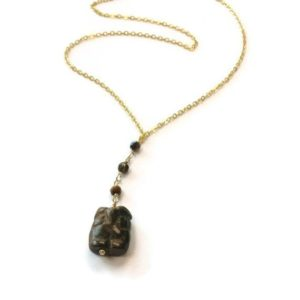 Shop Tiger Eye Pendants! Brown Necklace – Owl Jewelry – Tigers Eye Gemstone Jewellery – Pendant – Drop – Charm – Unique – Handmade – Chain – Carved N-282 | Natural genuine Tiger Eye pendants. Buy crystal jewelry, handmade handcrafted artisan jewelry for women.  Unique handmade gift ideas. #jewelry #beadedpendants #beadedjewelry #gift #shopping #handmadejewelry #fashion #style #product #pendants #affiliate #ad