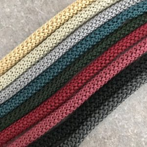 Shop Cord! 6mm  macrame cord, diy macrame rope, weaving cord, polyester rope, jewelry cord, striped string cord, polyester cord, soft cord | Shop jewelry making and beading supplies, tools & findings for DIY jewelry making and crafts. #jewelrymaking #diyjewelry #jewelrycrafts #jewelrysupplies #beading #affiliate #ad