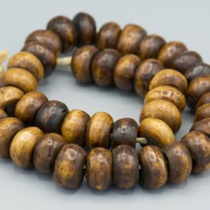 Shop Beads With Large Holes! African Bone Kenya Beads – Large Hole Ethnic Home Decor Beads. AB-16 | Shop jewelry making and beading supplies, tools & findings for DIY jewelry making and crafts. #jewelrymaking #diyjewelry #jewelrycrafts #jewelrysupplies #beading #affiliate #ad