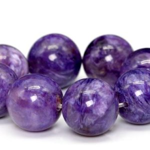 "Shop Charoite Round Beads! 10-11MM Semi Transparent Charoite Beads Russia AA Genuine Natural Half Strand Round Loose Beads 7"" BULK LOT 1,3,5,10 and 50 (101543h-373) 