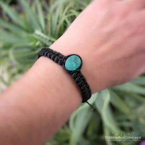 Chrysocolla Bracelet, Green Stacking Wristband, Braided Cuff, Gemini Zodiac, Emotional Healing Stone, Yoga Gift For Her Or Him, Men Jewelry | Natural genuine Gemstone bracelets. Buy crystal jewelry, handmade handcrafted artisan jewelry for women.  Unique handmade gift ideas. #jewelry #beadedbracelets #beadedjewelry #gift #shopping #handmadejewelry #fashion #style #product #bracelets #affiliate #ad