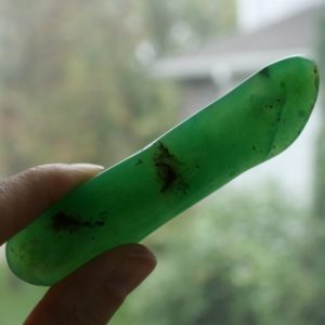 "Shop Chrysoprase Points & Wands! Pink Tourmaline Crystal from Afghanistan, 1.00"" x 0.65"" x 0.50"", weight: 8.8 grams / 44ct 
