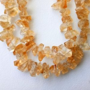 Shop Citrine Chip Beads! 13 Inch Raw Citrine Stones, 8-11mm Natural Loose Raw Gemstone, Citrine Rough Beads, Citrine Rough Nuggets – DVP38 | Natural genuine chip Citrine beads for beading and jewelry making.  #jewelry #beads #beadedjewelry #diyjewelry #jewelrymaking #beadstore #beading #affiliate