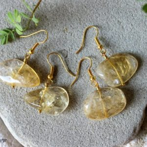 Shop Citrine Earrings! Citrine Earrings, Citrine Jewelry, Genuine Citrine Earrings, Yellow Gemstone Earrings, Birthstone Earrings, Solar Plexus Jewelry, Citrine | Natural genuine Citrine earrings. Buy crystal jewelry, handmade handcrafted artisan jewelry for women.  Unique handmade gift ideas. #jewelry #beadedearrings #beadedjewelry #gift #shopping #handmadejewelry #fashion #style #product #earrings #affiliate #ad