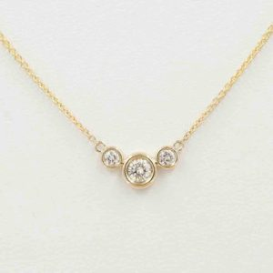 Shop Diamond Necklaces! Dainty Diamond Necklace/Diamond Bezel Necklace/14k Rose Gold Necklace/Diamond Necklace/0.25Ct. Natural Diamond/Diamond White Gold Necklace | Natural genuine Diamond necklaces. Buy crystal jewelry, handmade handcrafted artisan jewelry for women.  Unique handmade gift ideas. #jewelry #beadednecklaces #beadedjewelry #gift #shopping #handmadejewelry #fashion #style #product #necklaces #affiliate #ad