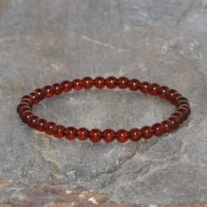 Shop Garnet Bracelets! 5mm Natural Pyrope Garnet Bracelet AAA Grade Mala Beads Healing Crystals Gift for Her Womens Mala Beads Yoga Bracelet Red Pyrope Jewelry | Natural genuine Garnet bracelets. Buy crystal jewelry, handmade handcrafted artisan jewelry for women.  Unique handmade gift ideas. #jewelry #beadedbracelets #beadedjewelry #gift #shopping #handmadejewelry #fashion #style #product #bracelets #affiliate #ad