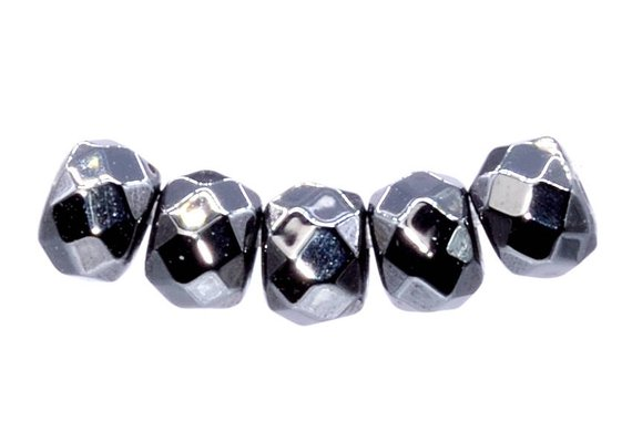 """3X2MM HEMATITE GEMSTONE PYRITE TONE FACETED RONDELLE 3X2MM LOOSE BEADS 15.5/"""""""