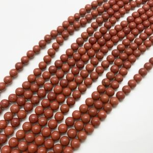 Shop Red Jasper Beads! Red Jasper Beads, 8mm Beads, 8mm Red Jasper, Red Beads, 8mm Gemstone Beads, Jasper Beads, 8mm Jasper Beads, 8mm Round Beads, Red Gemstone | Natural genuine beads Jasper beads for beading and jewelry making.  #jewelry #beads #beadedjewelry #diyjewelry #jewelrymaking #beadstore #beading #affiliate #ad