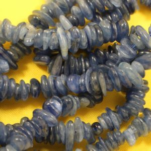 Shop Kyanite Chip Beads! Kyanite Chips, Small to Medium Size, Polished Natural Gemstone (Sold by the Gram) Jewelry Making Craft Beads – 0353 | Natural genuine chip Kyanite beads for beading and jewelry making.  #jewelry #beads #beadedjewelry #diyjewelry #jewelrymaking #beadstore #beading #affiliate