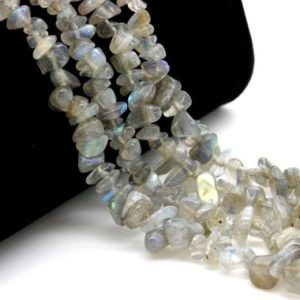 Shop Labradorite Chip & Nugget Beads! Labradorite Pebble Chips Small Nugget Assorted Size Loose Natural Gemstone Beads – Full Strand | Natural genuine chip Labradorite beads for beading and jewelry making.  #jewelry #beads #beadedjewelry #diyjewelry #jewelrymaking #beadstore #beading #affiliate #ad